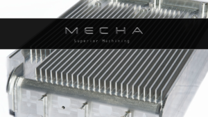 Mecha, Inc. Superior Machining. Logo